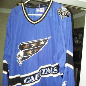 Vintage Washington Capitals Hockey Jersey*Starter